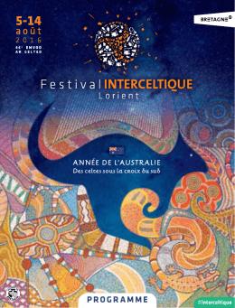 programme - Festival Intercéltico de Lorient