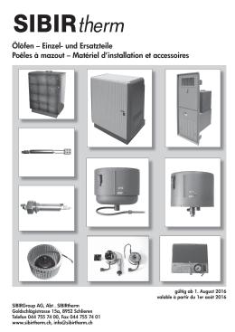 Matériel d`installation et accessoiresSIBIRtherm