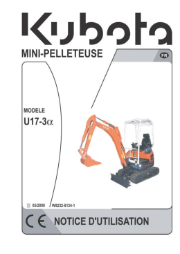 E1509-3 Excavatrice U17