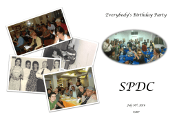 Everybody`s Birthday Party