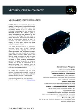 vpc604cm camera compacte