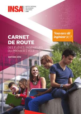 Carnet de route 2016