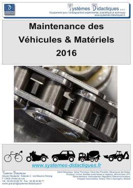 Flyer Automobile 2016 - Systèmes Didactiques