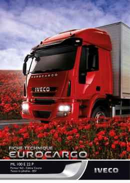 Français Fiche technique Iveco Eurocargo 190E35
