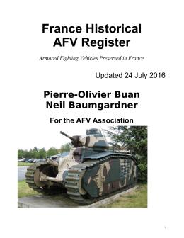 France AFVs