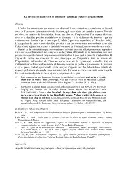 Procédé d`adjonction en allemand - Hélène Vinckel Roisin Hélène