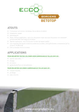 betotop - ECCO Products