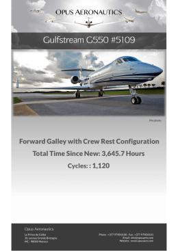 Gulfstream G550 #5109