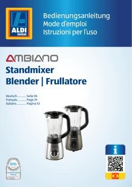 Standmixer Blender | Frullatore