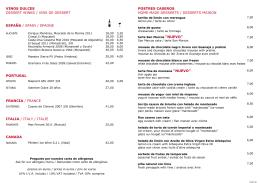 Descarga Menú Postres - La Taberna del Gourmet