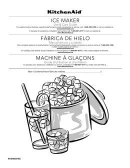 ICE MAKER FÁBRICA DE HIELO MACHINE À GLAÇONS