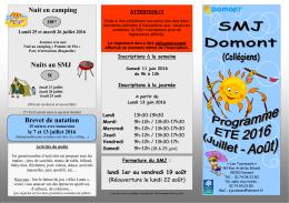 programme juillet 2016 ext - ville