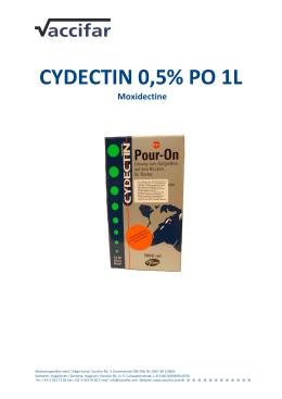 CYDECTIN 0,5% PO 1L