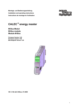 CALEC energy master