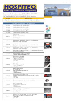 catalogue hospiteq cons.labo dispo août 2016