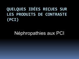 Quelques idées reçues sur les produits de contraste (PCI)