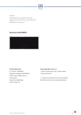 Télécharger la brochure - V