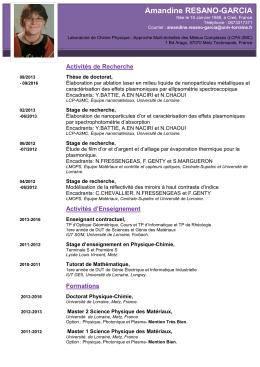 Amandine RESANO-GARCIA - LCP-A2MC
