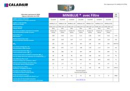 FICHE ErP MINIBLUE + FILTRE au format pdf