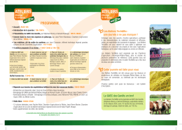 programme - Accueil - Chambres d`agriculture