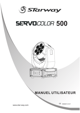 Manuel Servo Color 500 FR