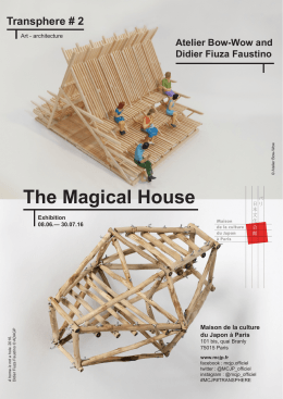 Atelier Bow-Wow and Didier Fiuza Faustino The Magical House