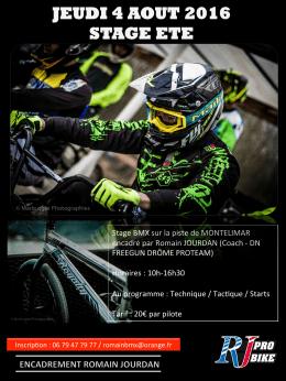 le flyer - BMX2DAY