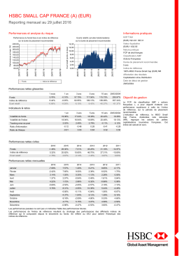 FR0010058628 - HSBC Global Asset Management France
