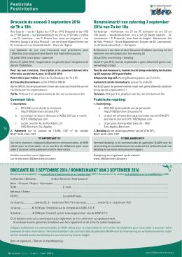 Inschrijvingsformulier - Berchem-Sainte