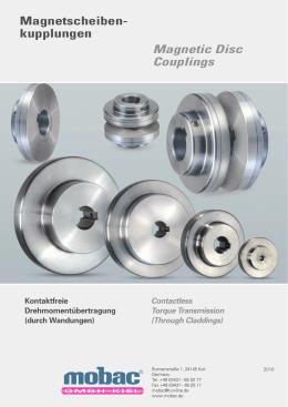 Magnetscheiben- kupplungen Magnetic Disc