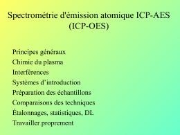ICP-AES - adisca