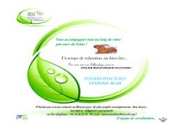 ATELIER REFLEXO PLANTAIRE Clic