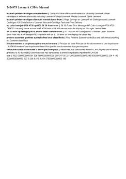 2424975 lexmark c534n manual