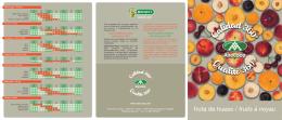 fruta de hueso / fruits à noyau