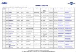 Liste des labellisés QUALICOAT - Le portail de l`aluminium en France