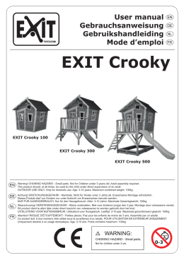 Manual EXIT Crooky 100-300-500