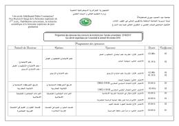 Français - Université Abdelhamid Mehri Constantine 2