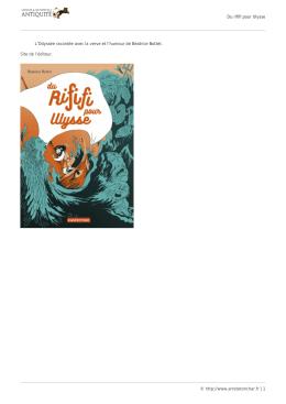 Version PDF - Arrête ton char