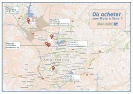 Carte des concessionnaires moto à Antananarivo