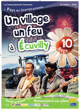 Le samedi 10 septembre à Écuvilly