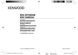 KDC-BT39DAB KDC-DAB35U