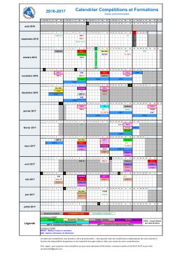 2015-2016 Gestion des évènements