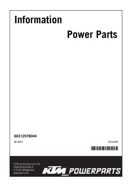 Information Power Parts
