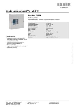 Vesda Laser compact VN - VLC VN