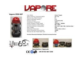 Vapore 2950 ASP