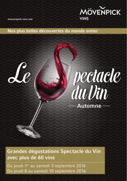 Spectacle du Vin
