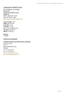 importer au format pdf