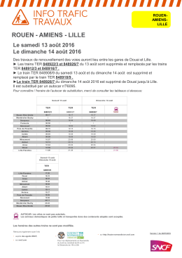 Affiche Travaux RN-AS-LE du 13 août au 14 août 2016 [Mode