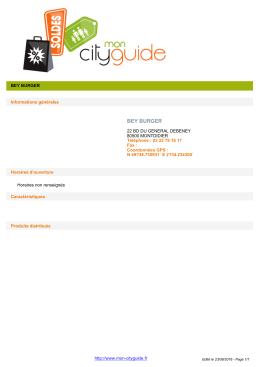 Enregistrer la fiche (format PDF) - mon