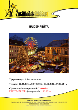 advent Budimpešta